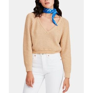 Free People | High Low V Neck Sweater
